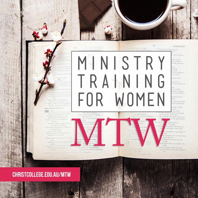Ministry Training For Women