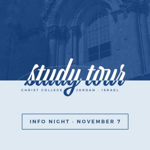 Study Tour 2018 Information Night