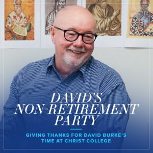 David Burke's Non-Retirement Party